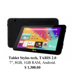 Tablets y Laptops